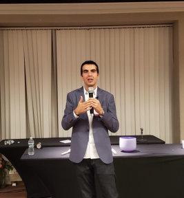 Igor as speaker